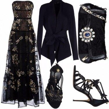 Outfit Serata in nero