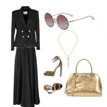 Outfit Armonia bicolore donna