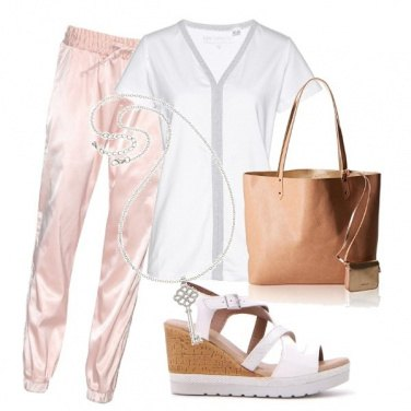 Outfit Rosa glos