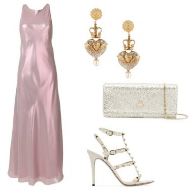 Outfit Il rosa glamour