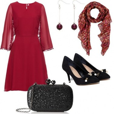 Outfit Magenta chic