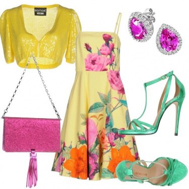 Outfit Originale e colorata