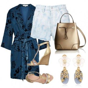Outfit Short e kimono