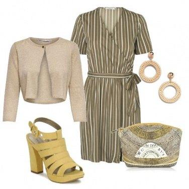 Outfit Olive e senape