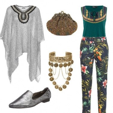 Outfit Eleganza etnica