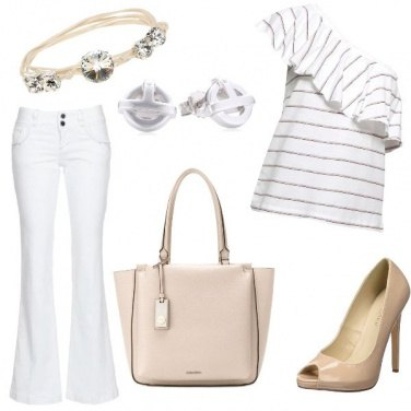 Outfit White...