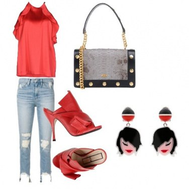 Outfit Red red red!