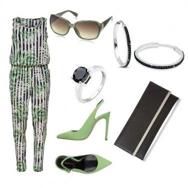 Outfit Tuta floreale#5