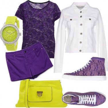 Outfit Grintosa in Ultra Violet