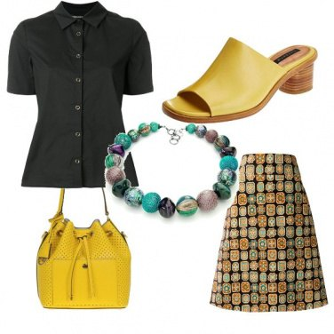 Outfit Gonna mosaico