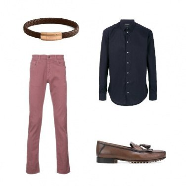 Outfit I jeans rosa