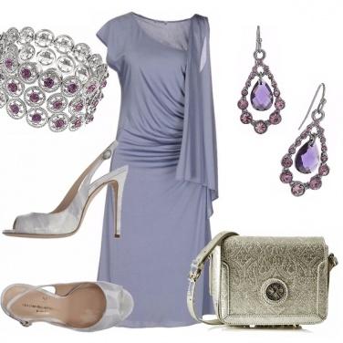 Outfit L\'eleganza del lilla