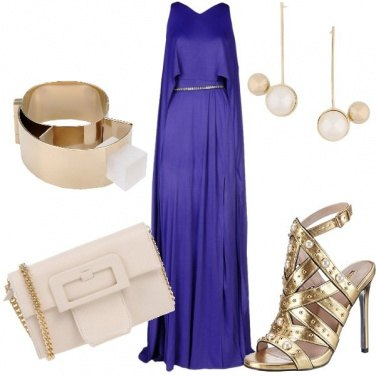 Outfit Cerimonia in Ultra Violet