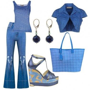Outfit Toni di blue