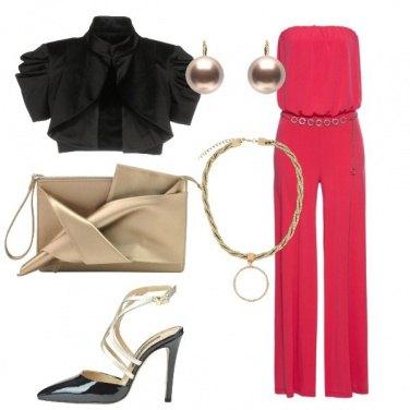 Outfit Cerimonia in jumpsuit e tacco 12