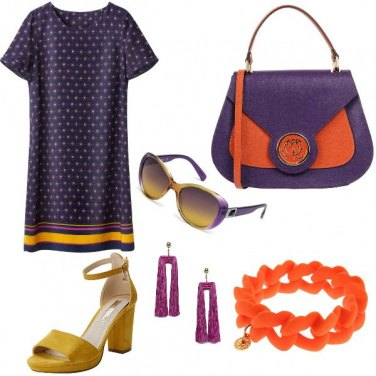 Outfit Pomeriggio colorato