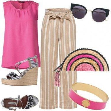 Outfit Rosa d\'estate