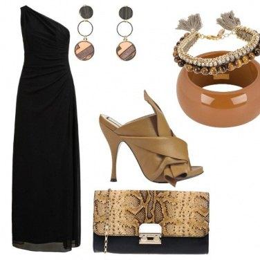 Outfit Accessori caramello