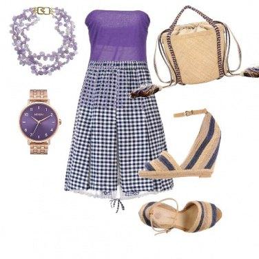 Outfit Profumo di violetta