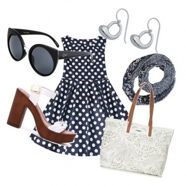 Outfit Sandalo glamour