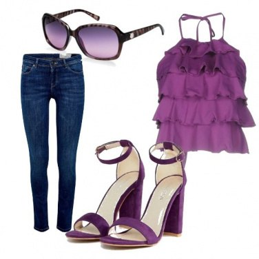 Outfit Look perfetto per l\'estate in città