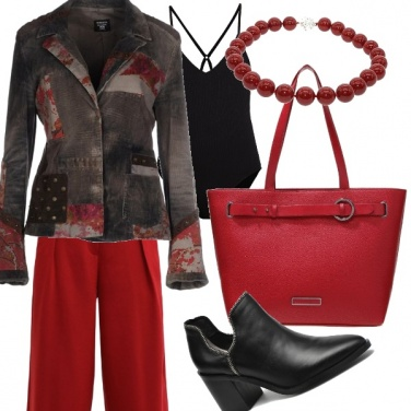 Outfit Giacca patchwork