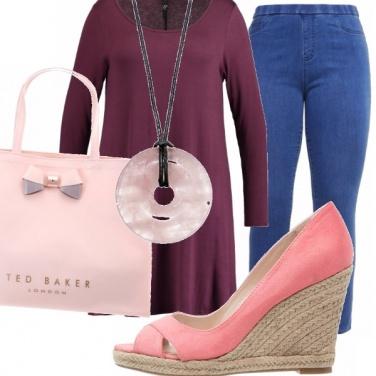 Outfit Rosa quarzo