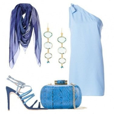 Outfit Le sfumature di azzurro