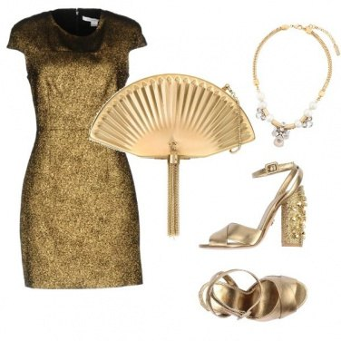 Outfit Only Gold