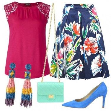 Outfit Cerimonia allegra