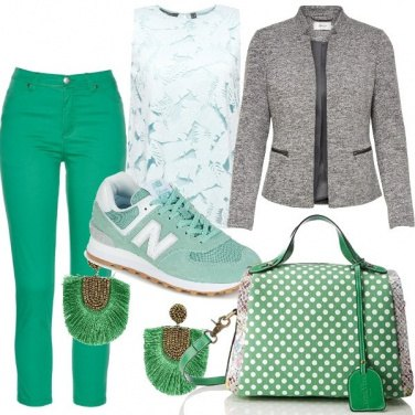 Outfit Green attitude