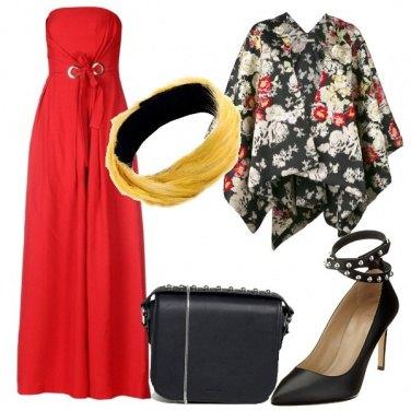 Outfit Piume di gallo