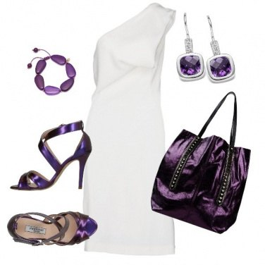Outfit Super chic con l\'ultra Violet