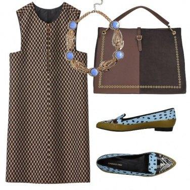 Outfit Un tocco di turchese