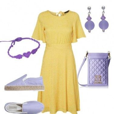 Outfit Violet pantone!