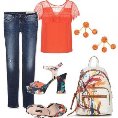 Outfit Un po' di arancione