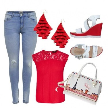 Outfit Viva il rosso!