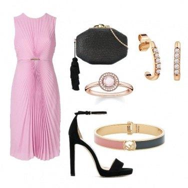 Outfit Cerimonia fresco rosa