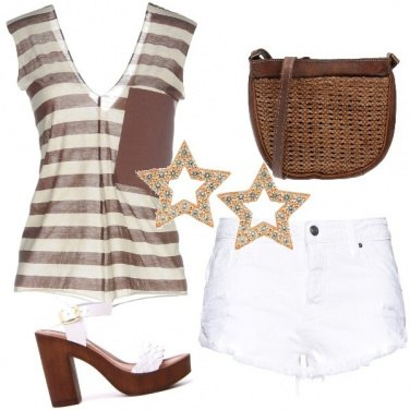 Outfit Sandali Glam