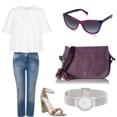 Outfit Total look donna Summer Ultraviolet