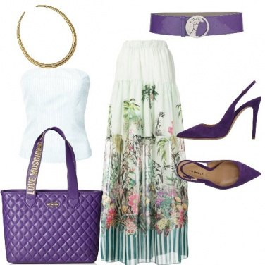 Outfit Think violet