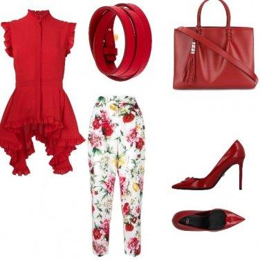 Outfit Affari in rosso