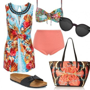 Outfit Un mare di colori