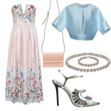 Outfit Cerimonia fiorita