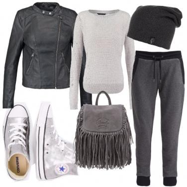 Outfit Sportygrey