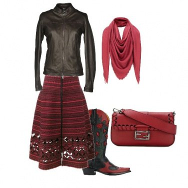 Outfit Rosa alternativo