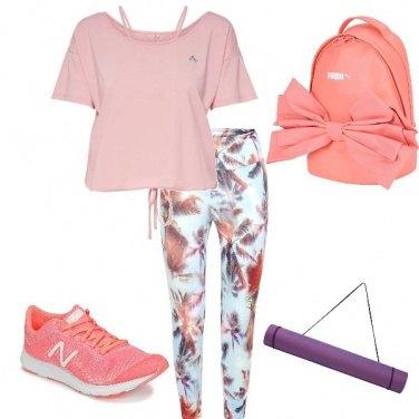 Outfit Yoga al parco