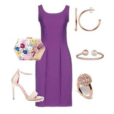 Outfit Viola e rosa...mica male!
