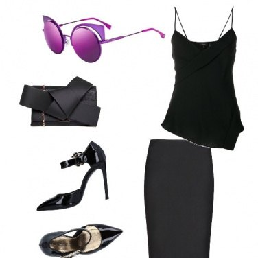 Outfit Tocco Ultra Violet