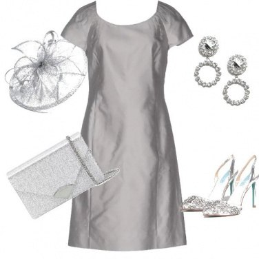 Outfit Silver chic